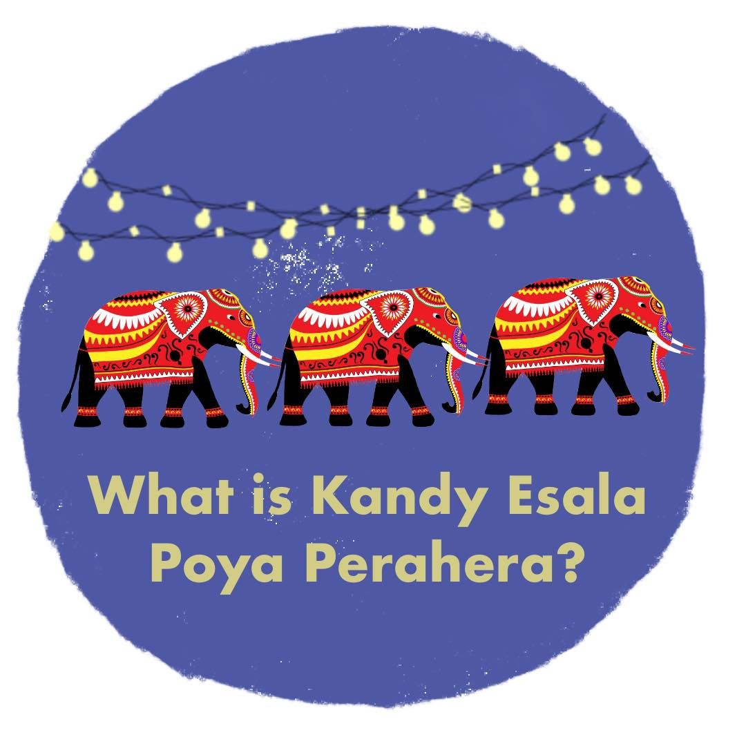 What is Kandy Esala Poya Perahera?