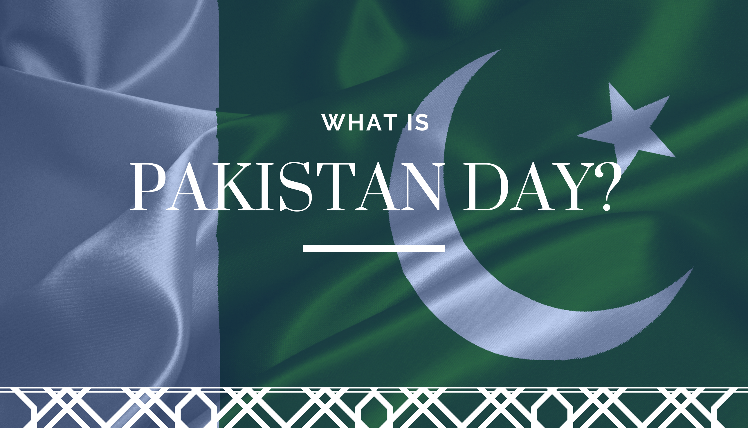 What is Pakistan Day?
