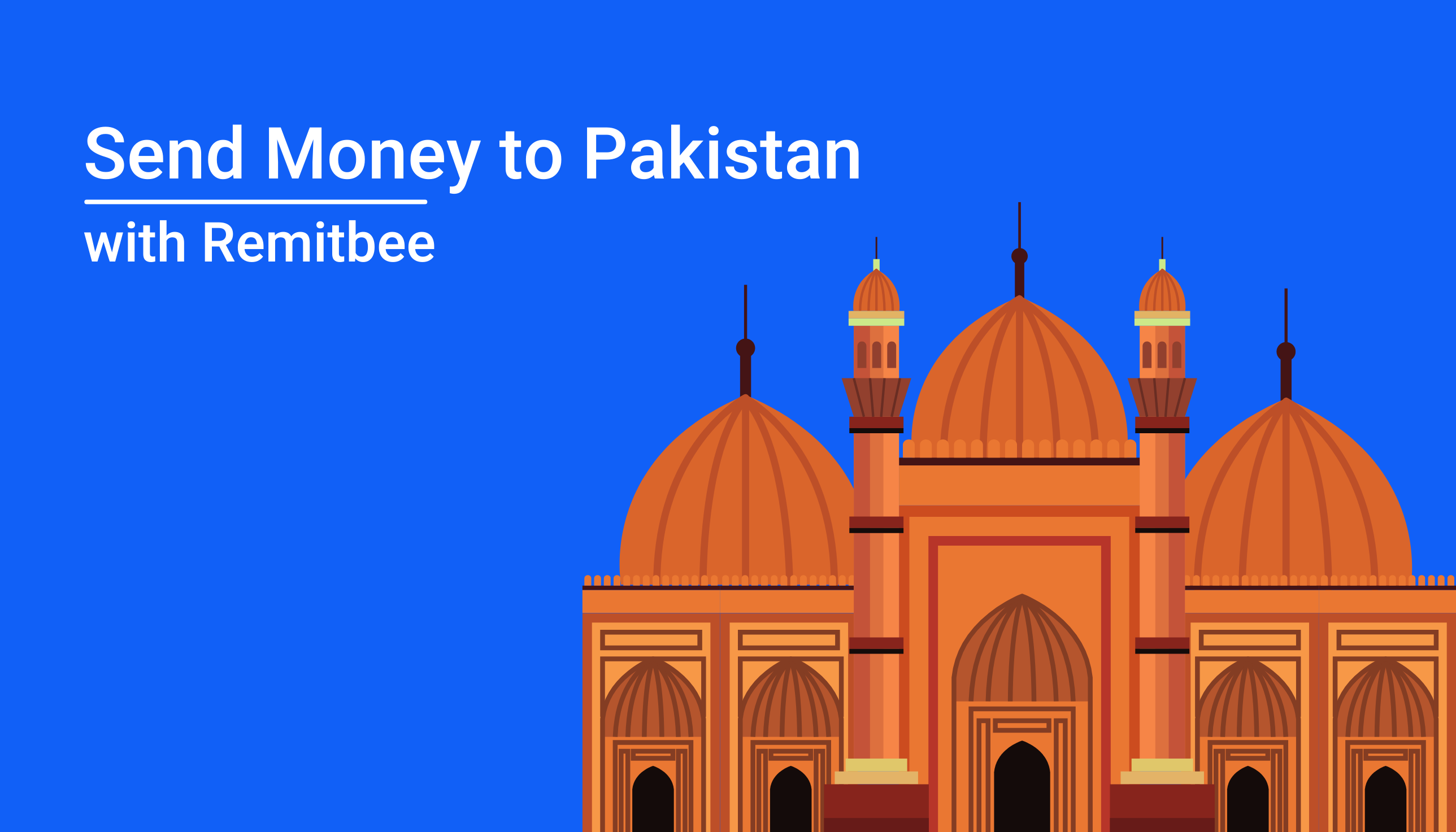 Send money to Pakistan in seconds with Remitbee!
