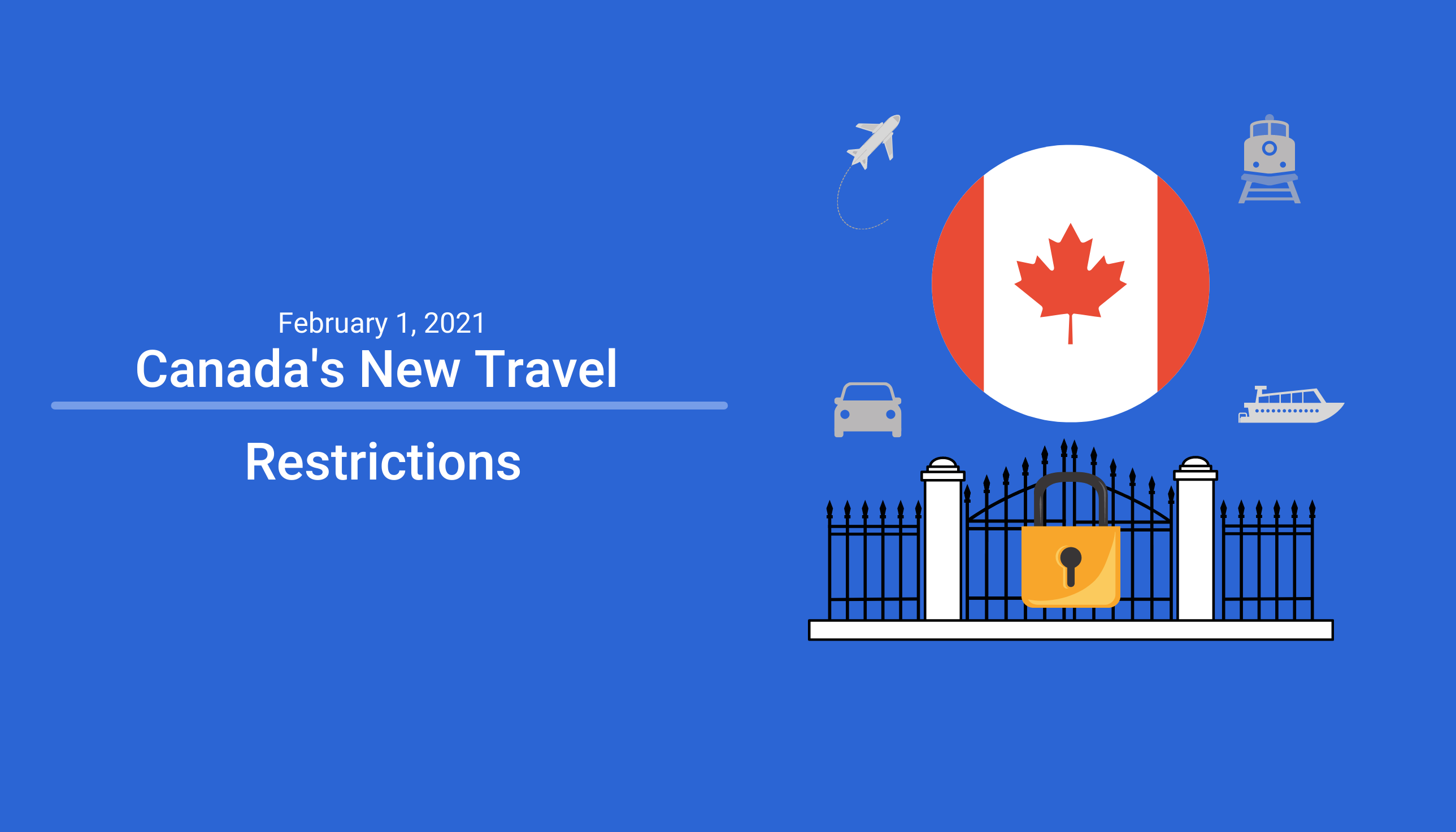 Canada travel restrictions 2021