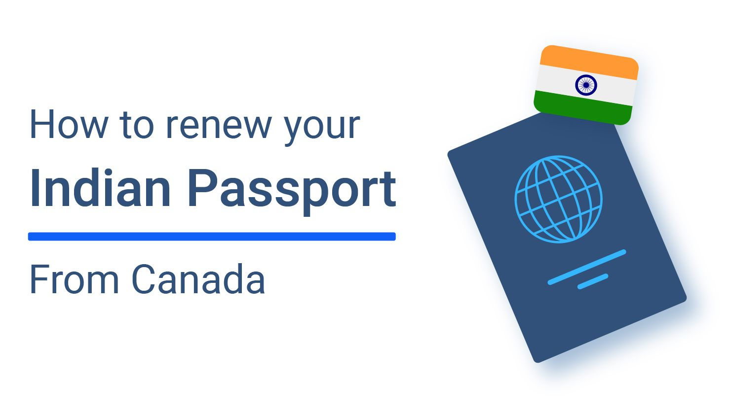 How to Renew Indian Passport in Canada
