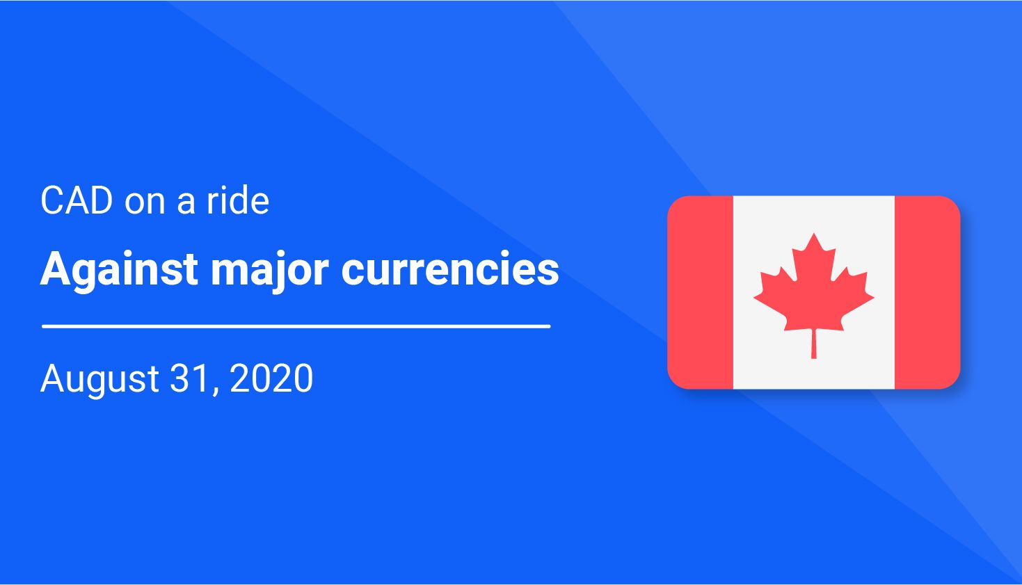 Canadian Dollar (CAD) on a ride against major currencies
