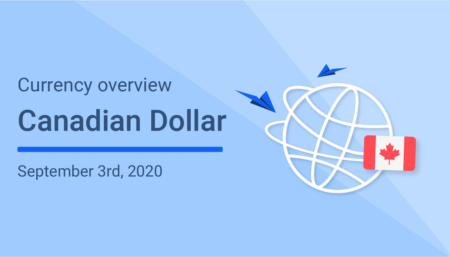Canadian dollar (CAD) trending lower against most major currencies