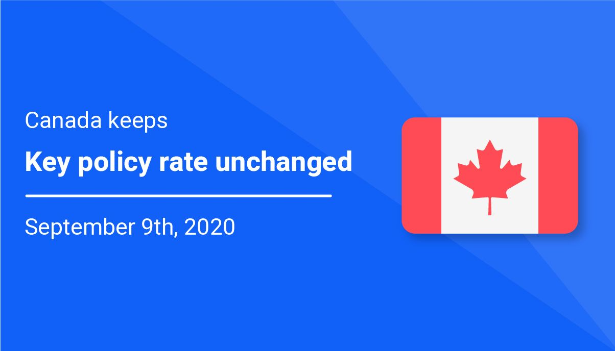 Canada keeps key policy rate unchanged