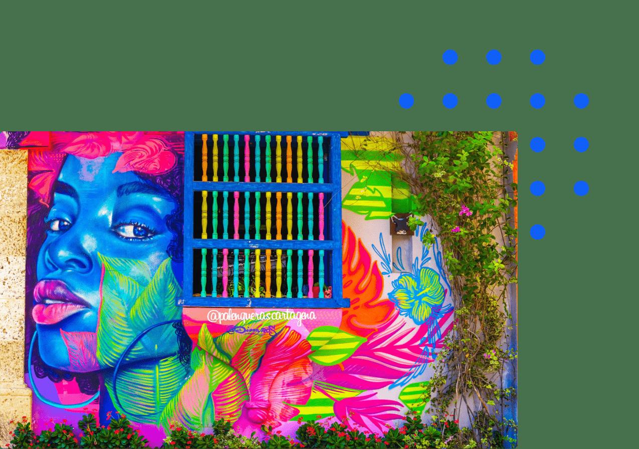 Colombian street art