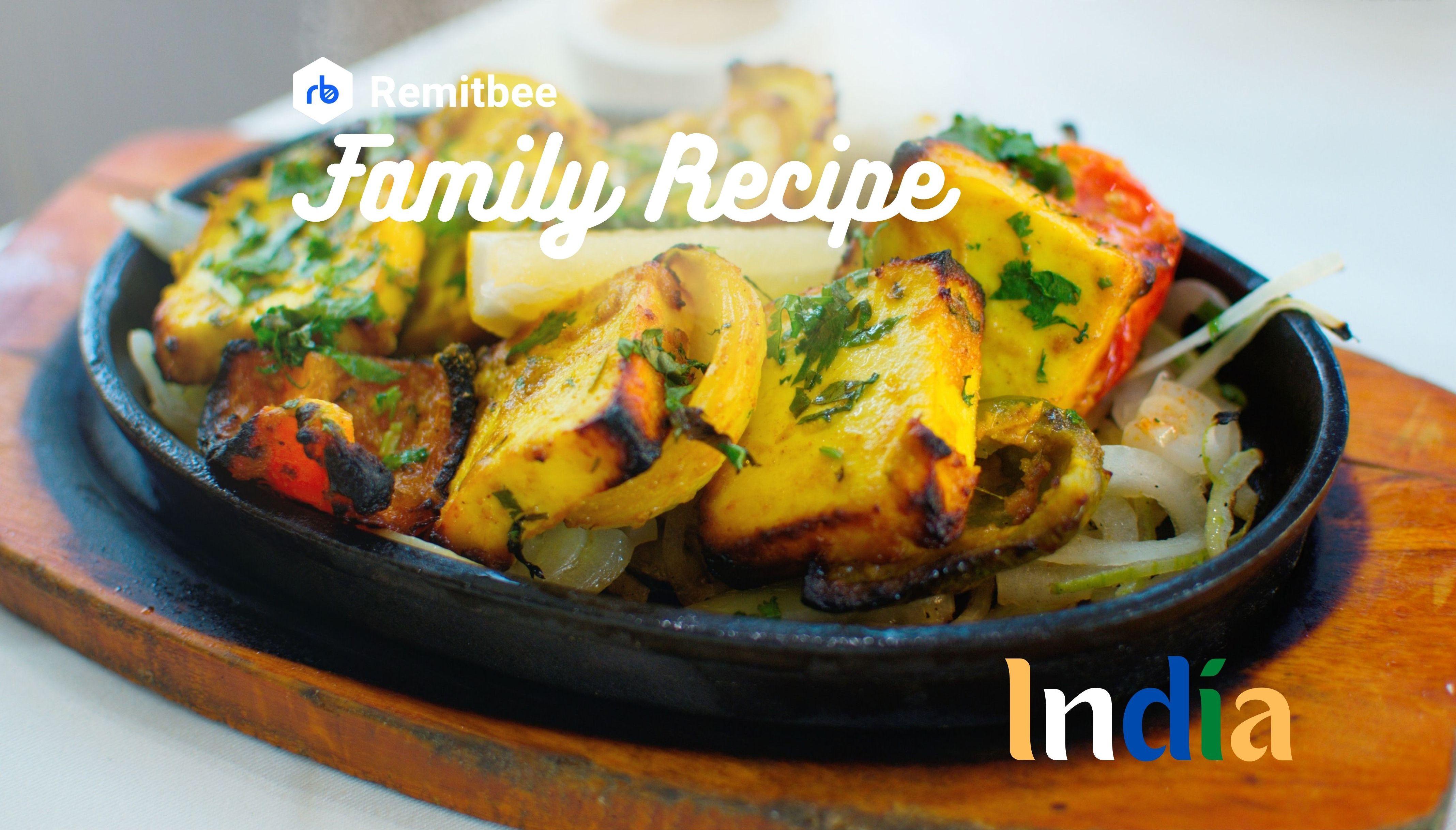 Remitbee Family Recipe: Paneer Masala .