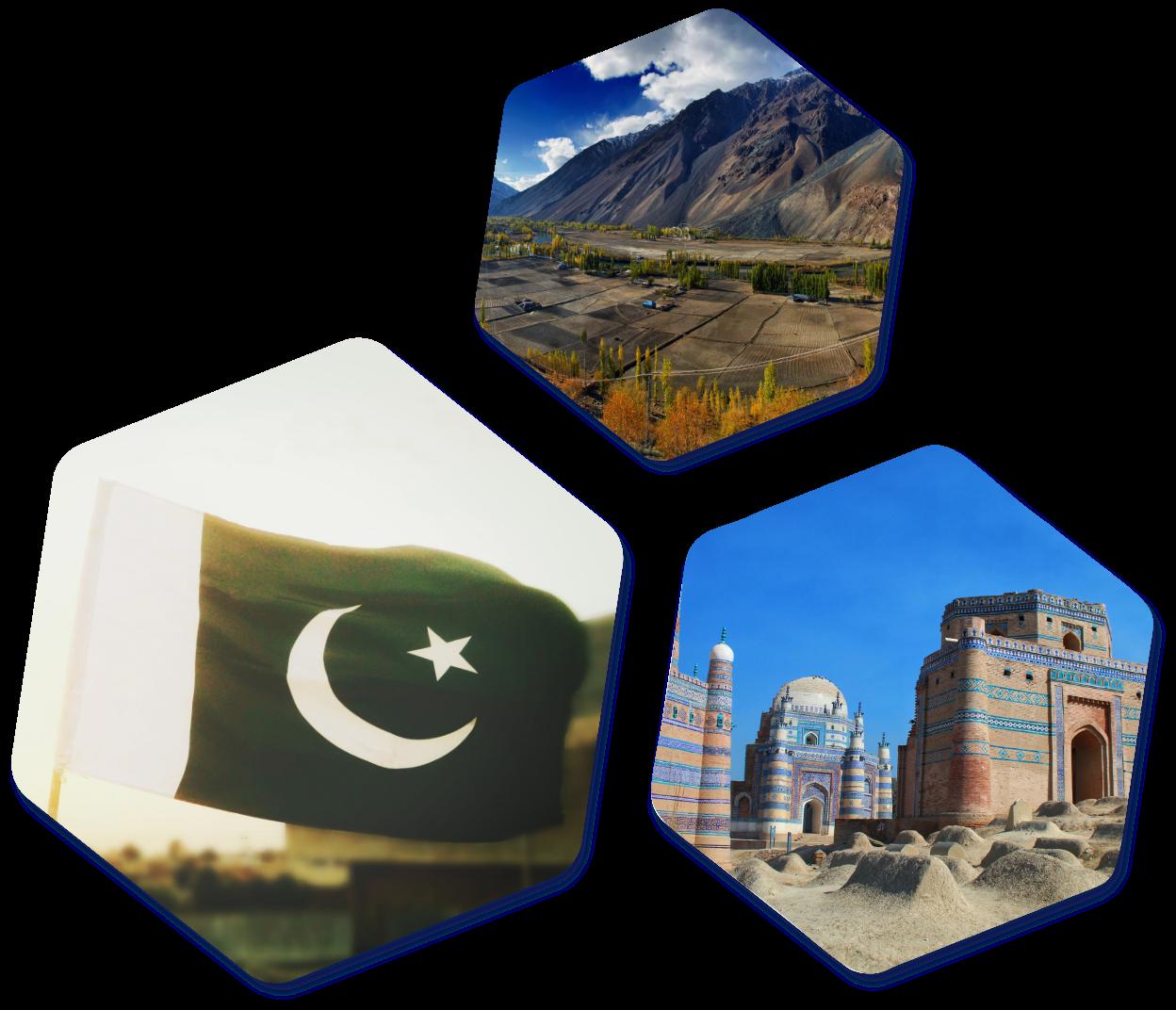 Hexagon Pakistan images