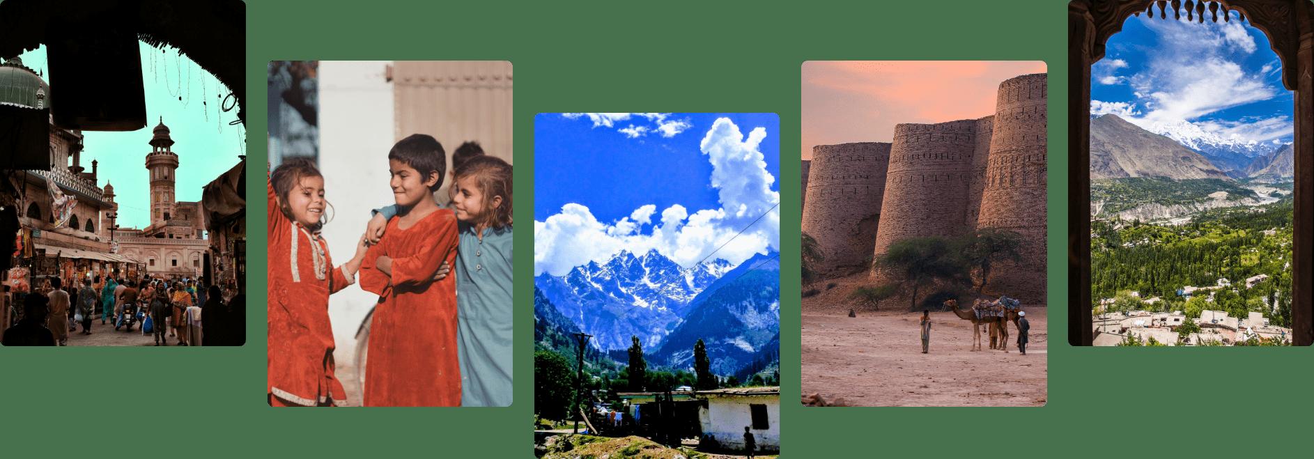 Pakistani images set