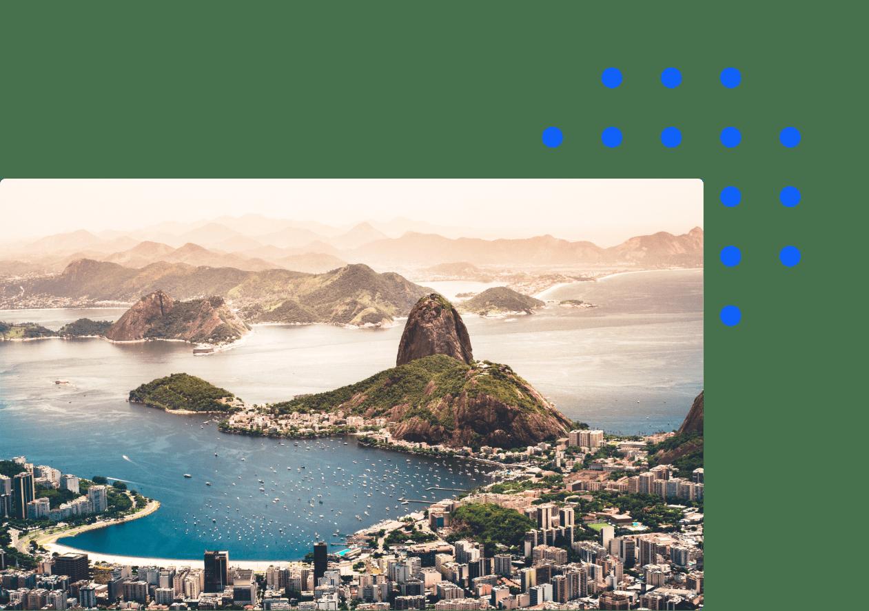 Rio city skyline