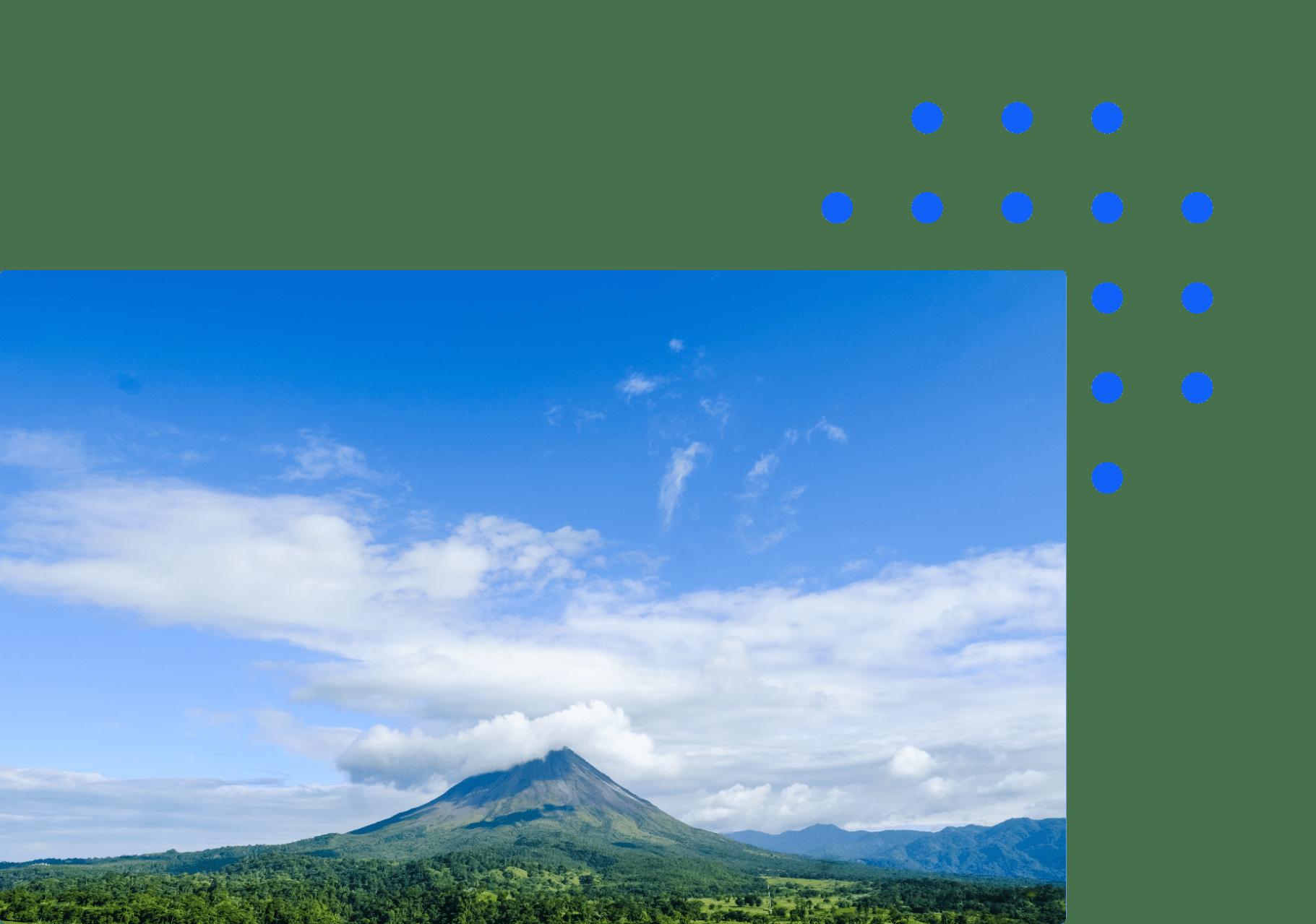 Costa Rica mountain
