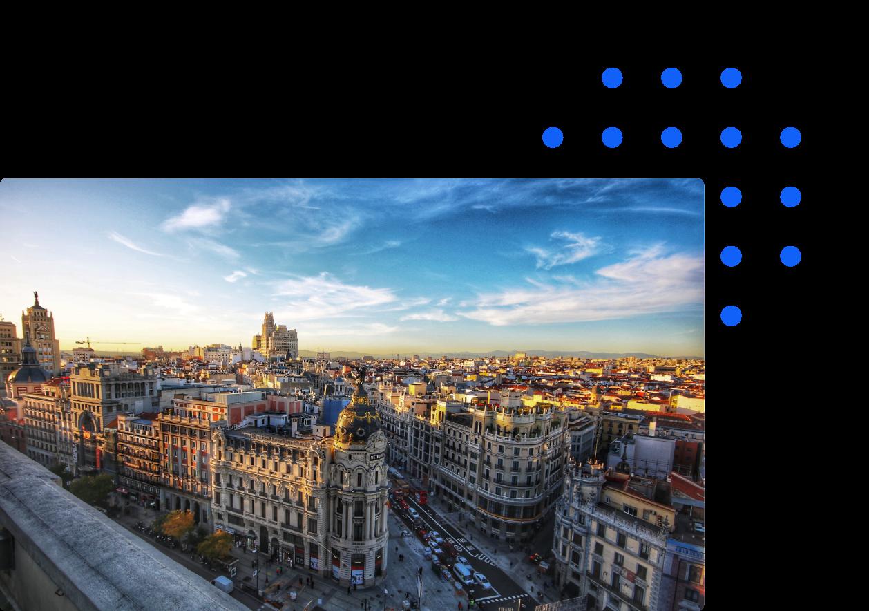 Madrid city Spain