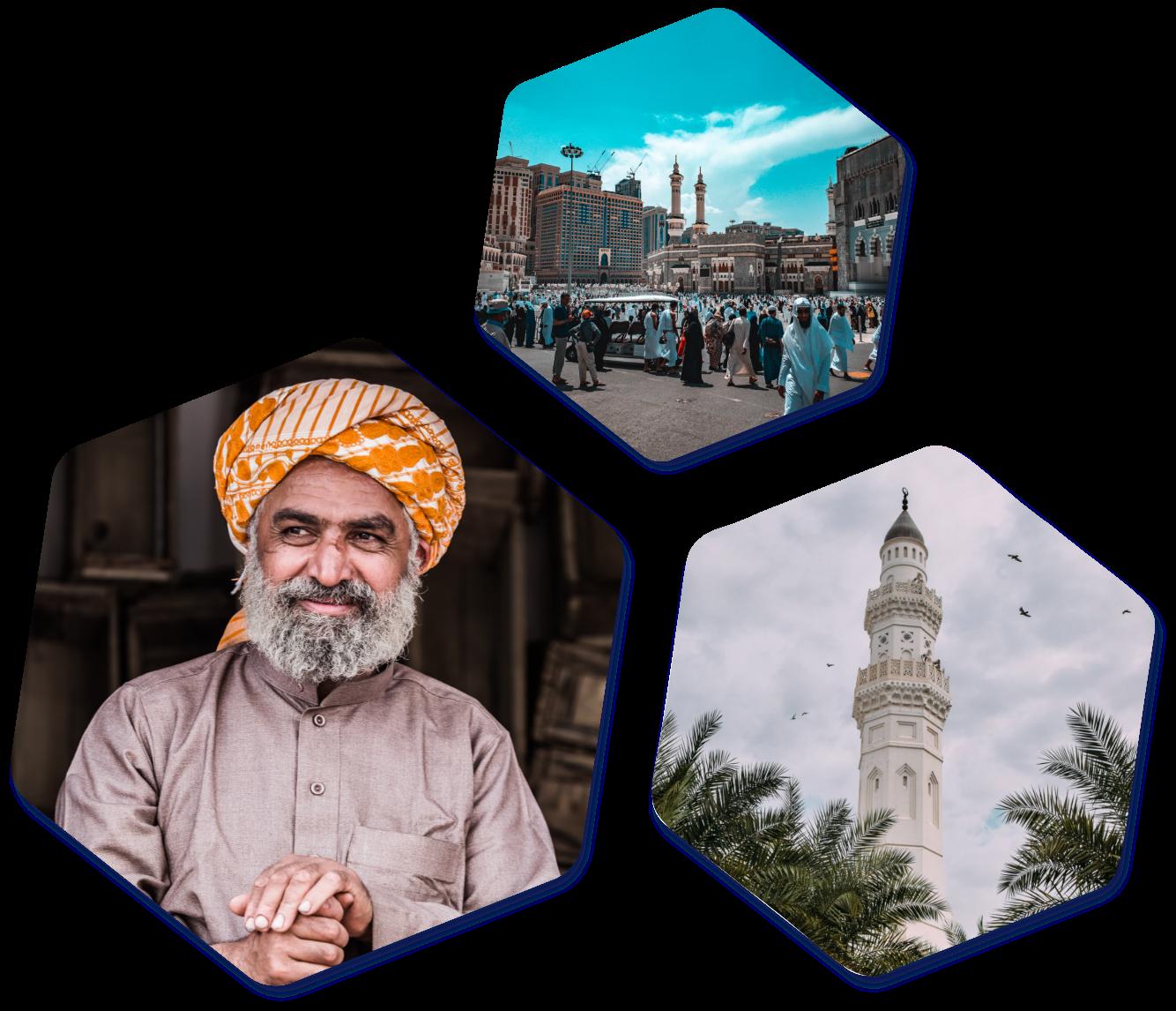 Saudi Arabia Hexagon images