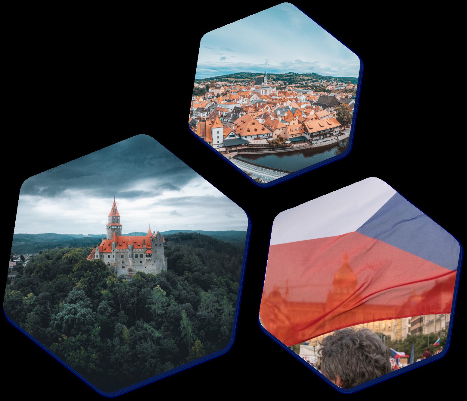 Czech Images Hexagons