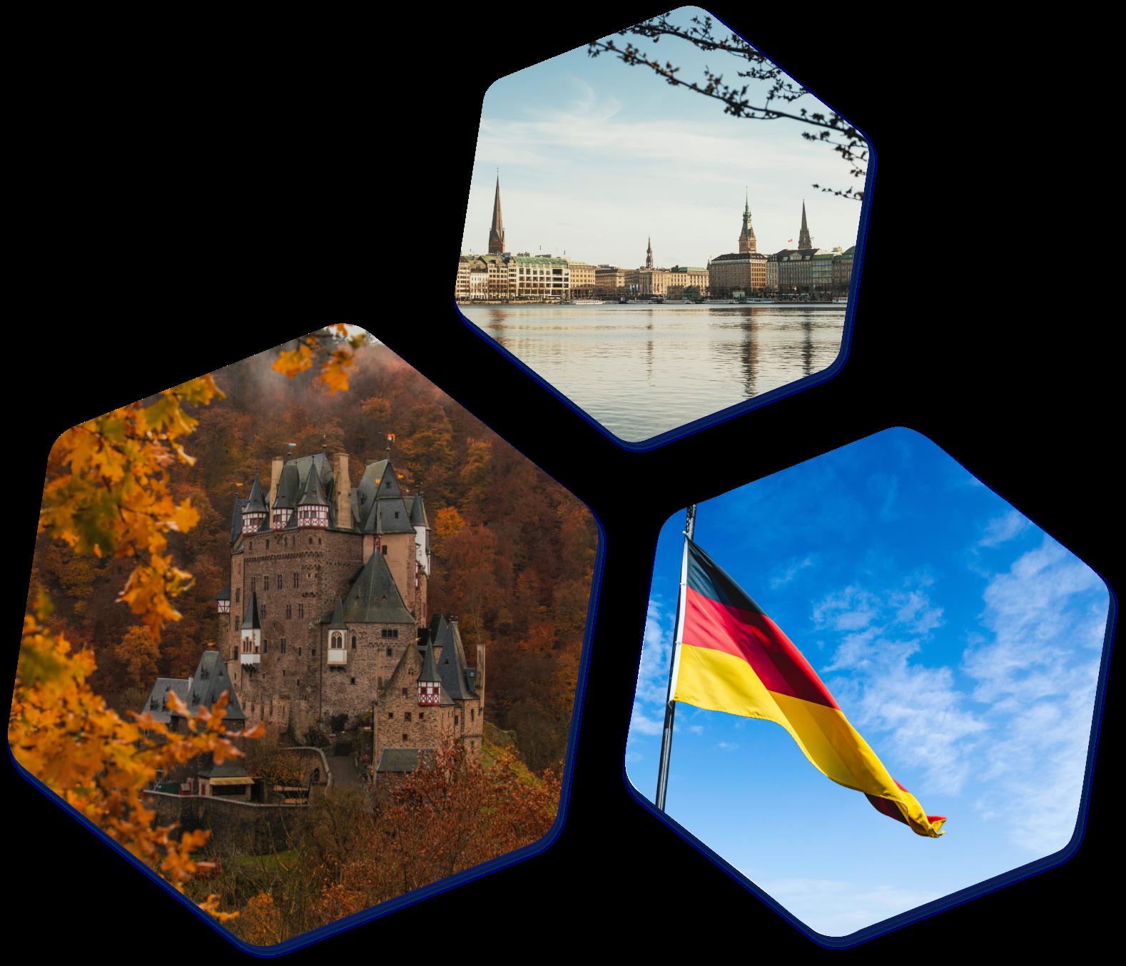 German images hexagons