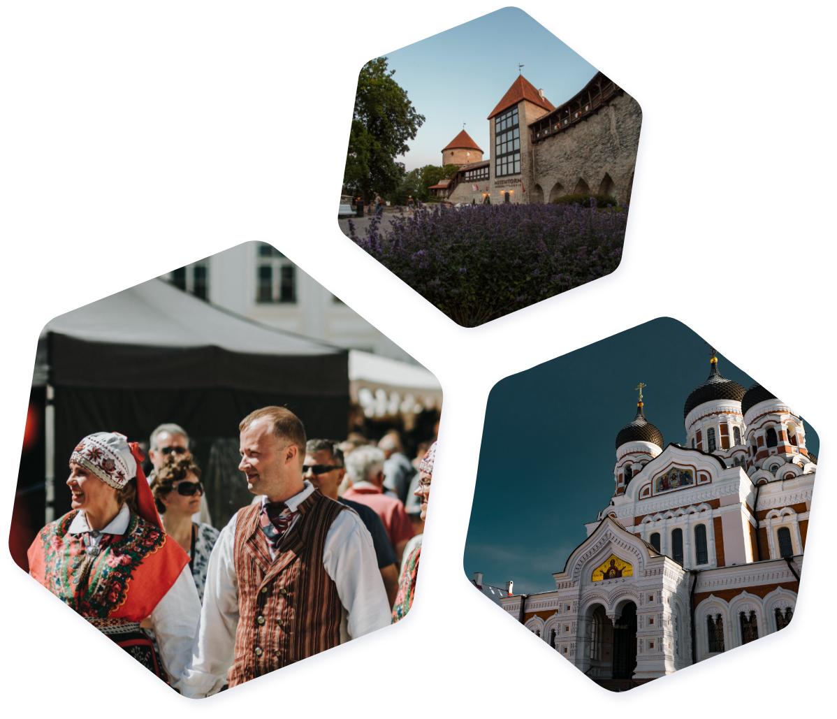 Estonian images hexagons