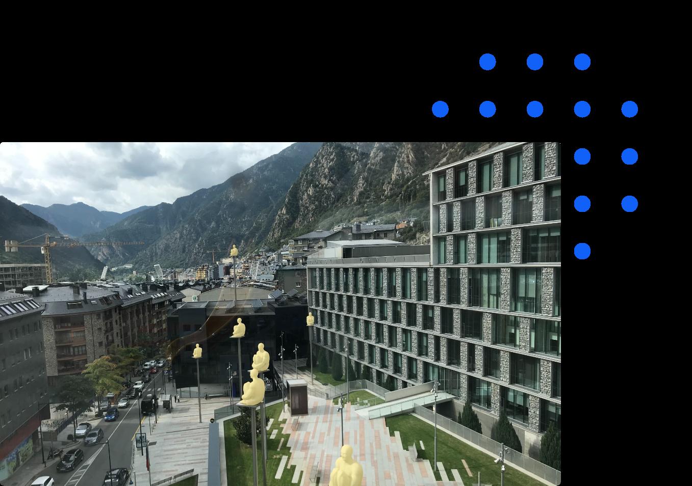 Group Andorra city