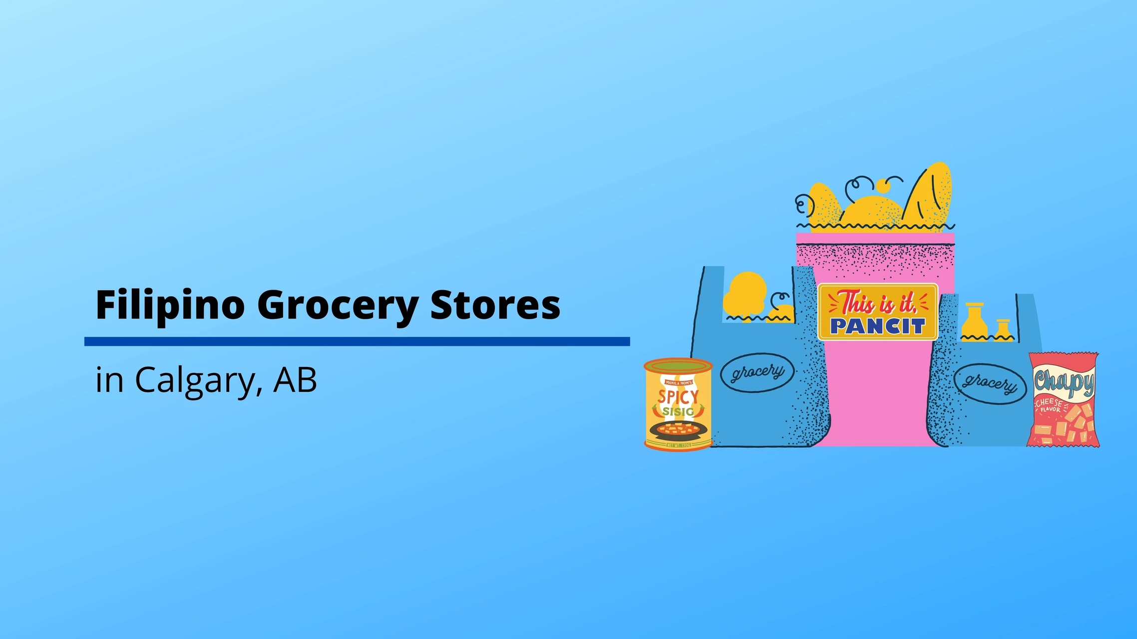 Filipino Grocery Stores in Calgary