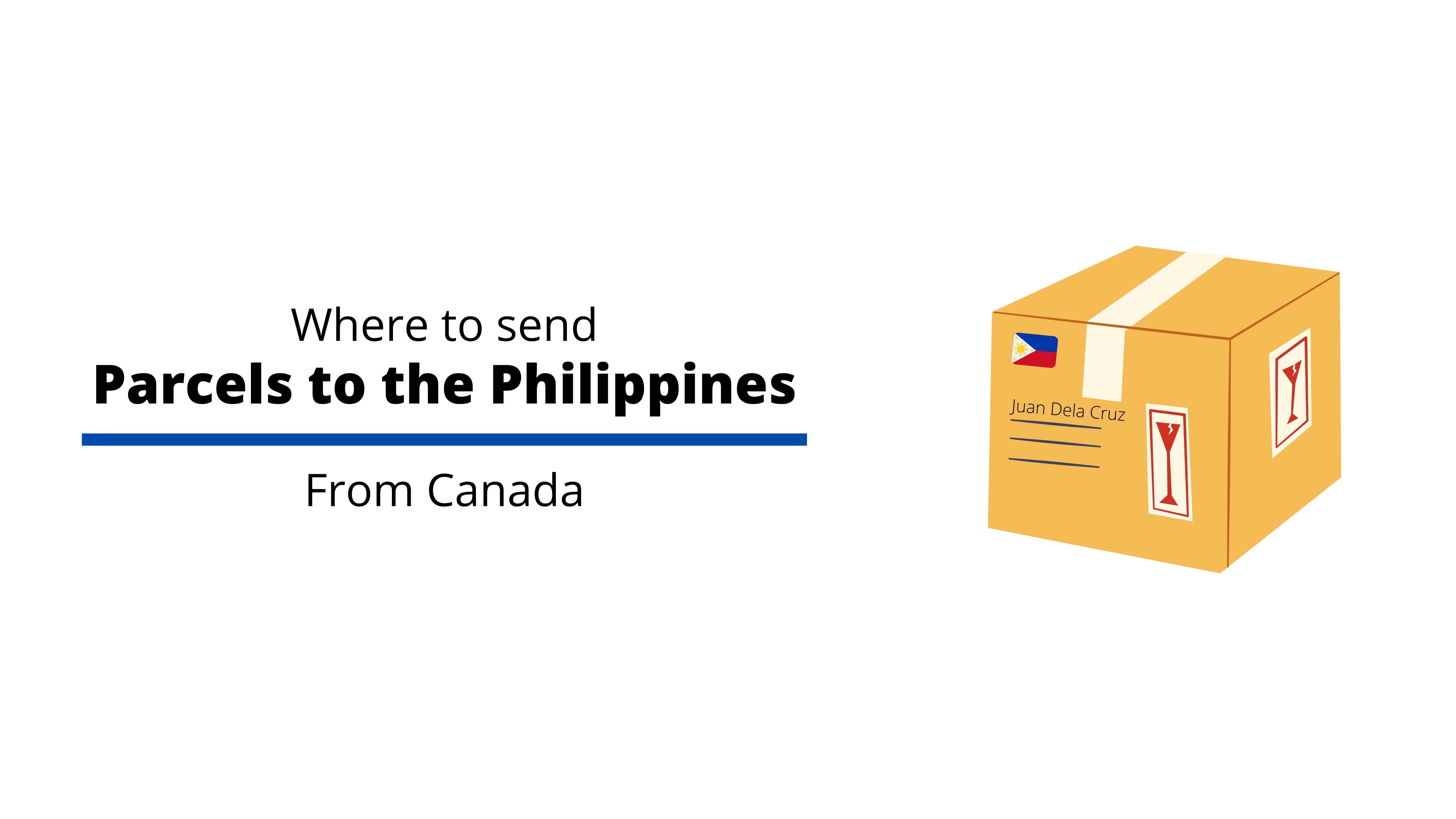 shipping service for Canada and the Philippines