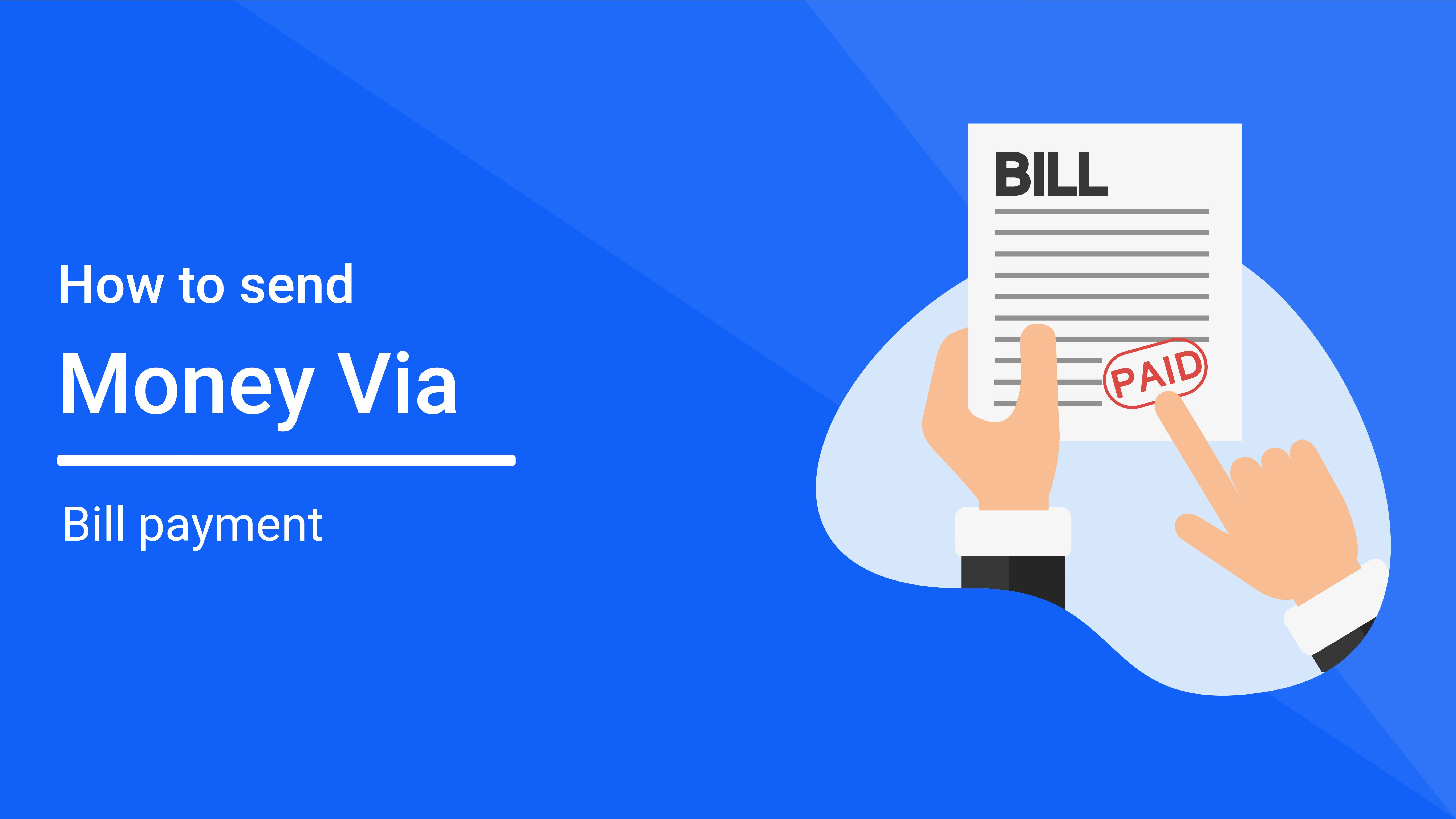 How to Fund a Transfer Through Your banks bill payment feature