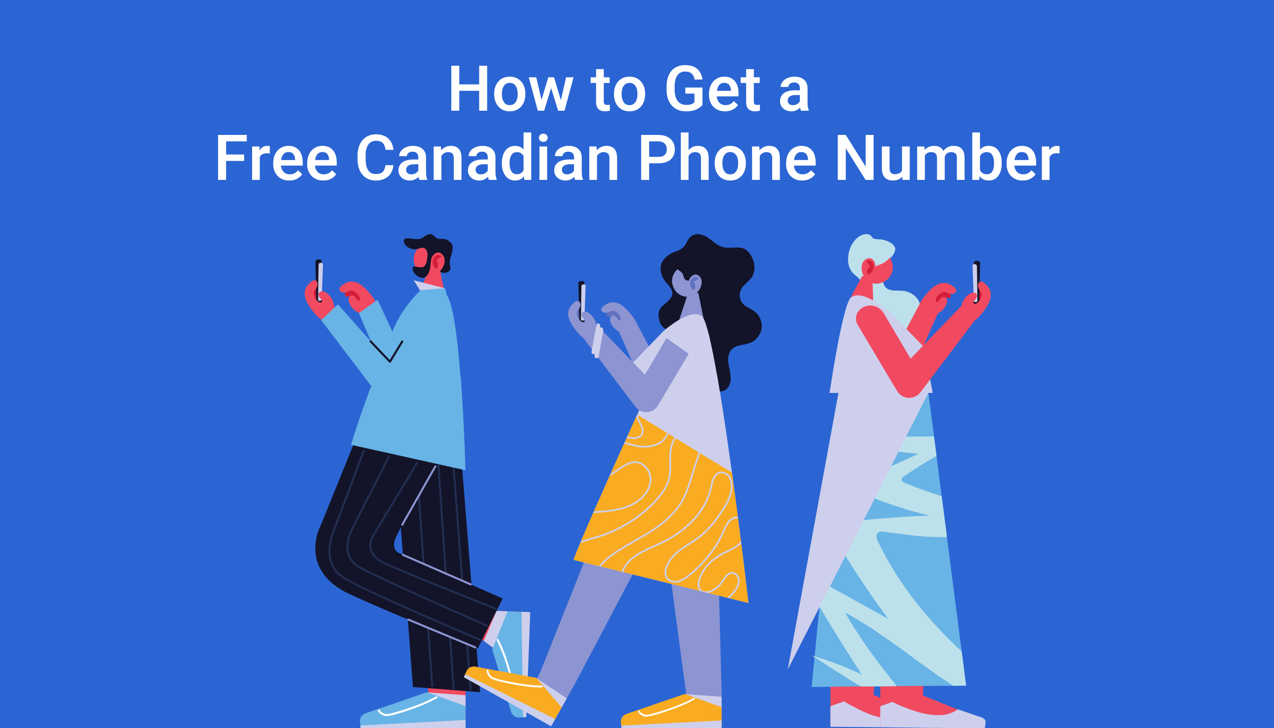 How to get a free canadian phone number