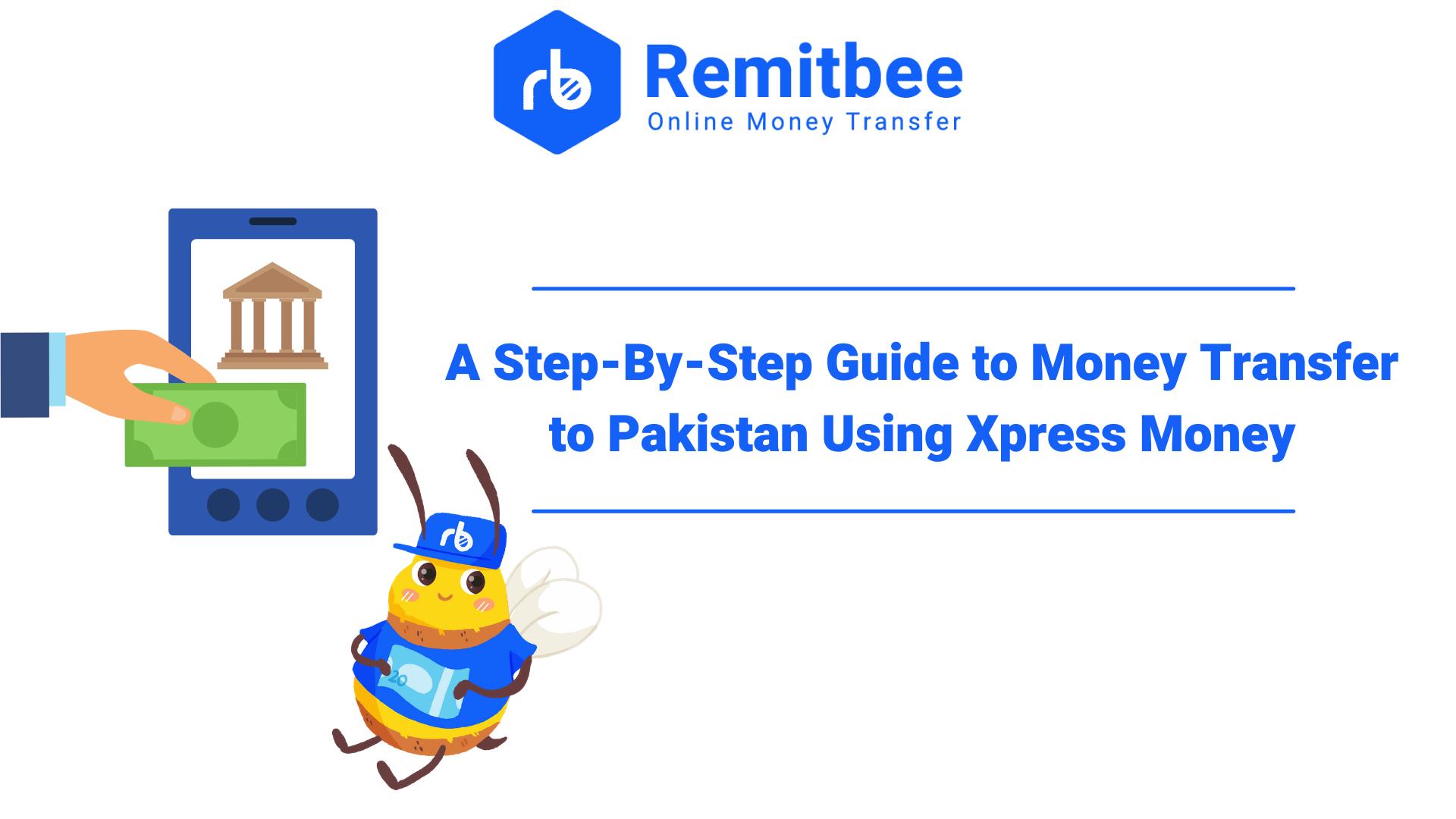 A few options to send money to Pakistan..