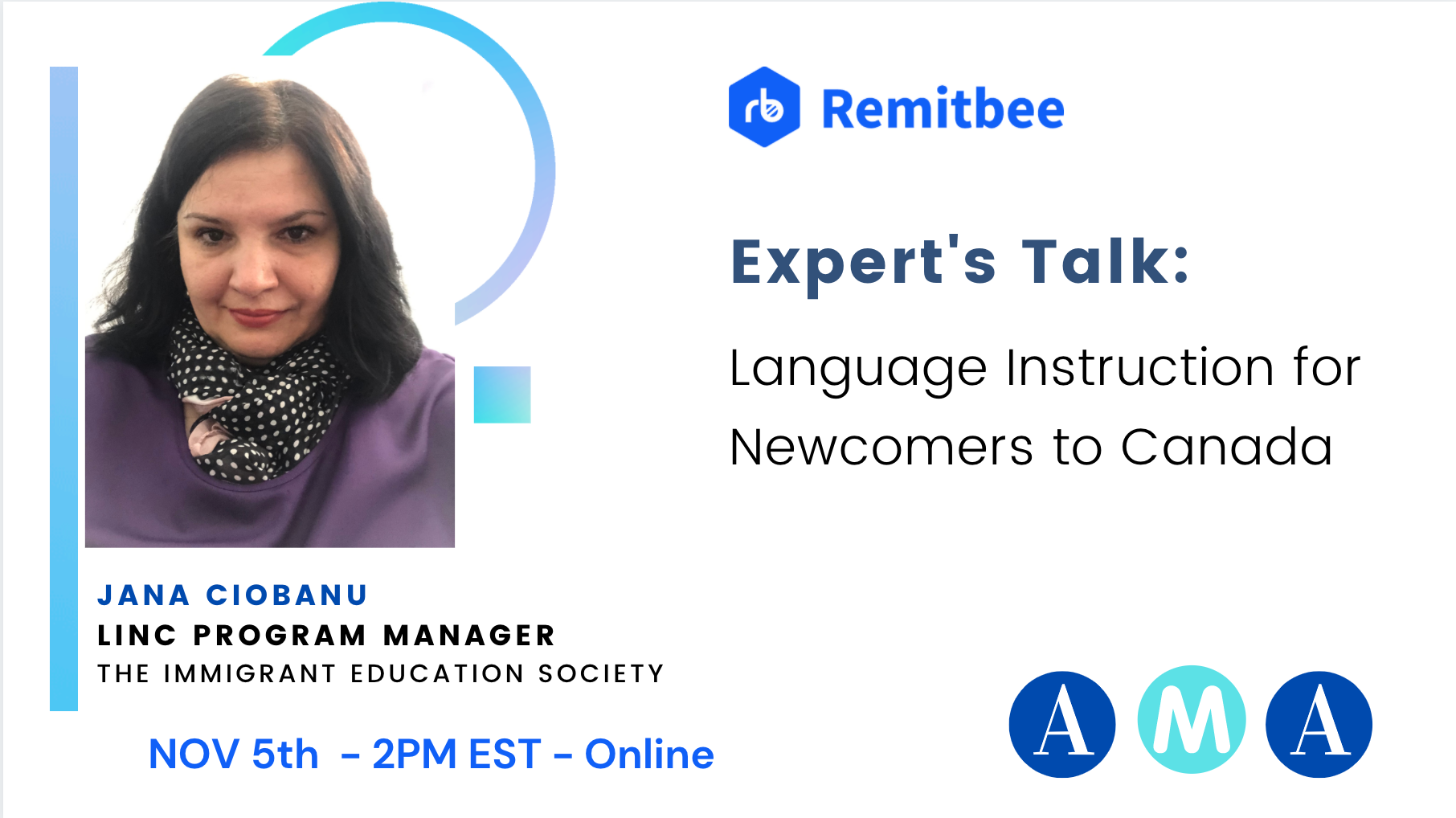 Remitbee Expert: Language Instruction for Newcomers to Canada