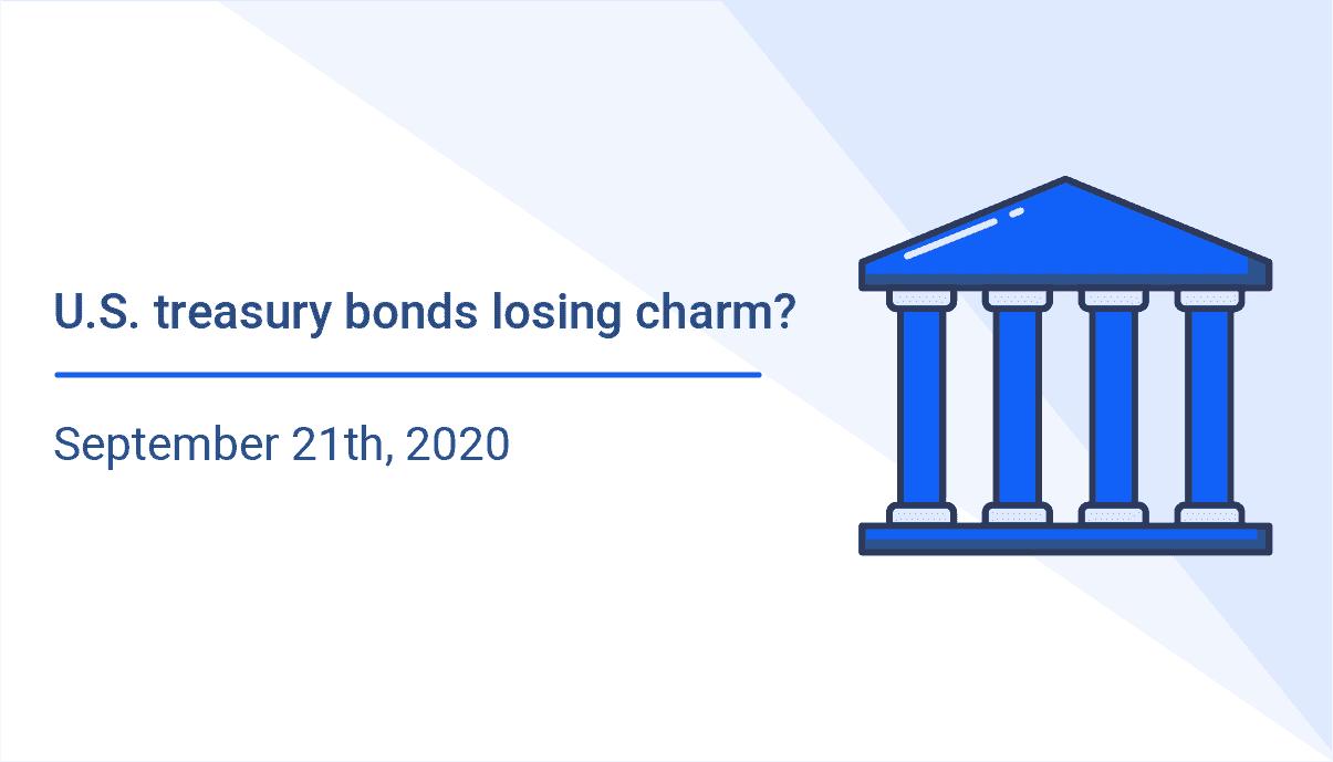 U.S. treasury bonds losing charm?