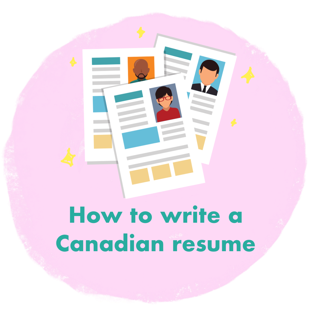 How to write a Canadian Resume