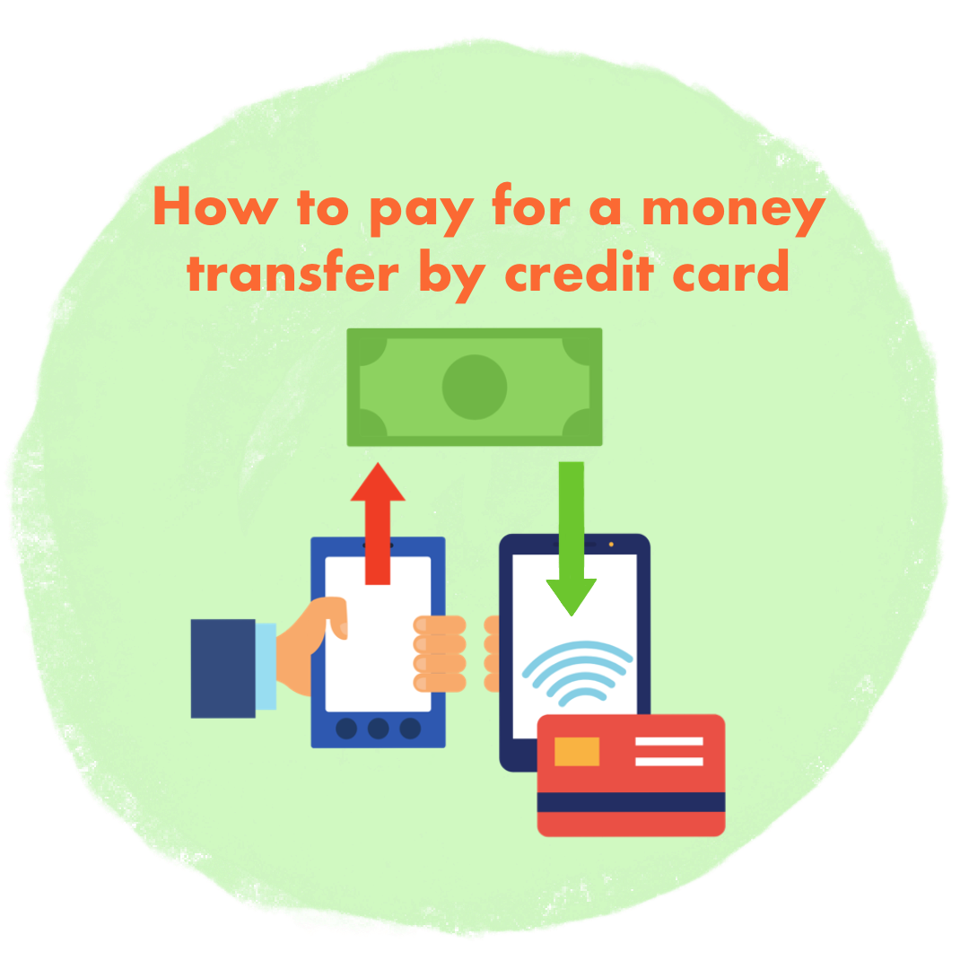How to send money abroad using a credit card