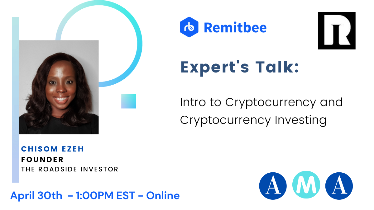 Join us for an intro to cryptocurrency session