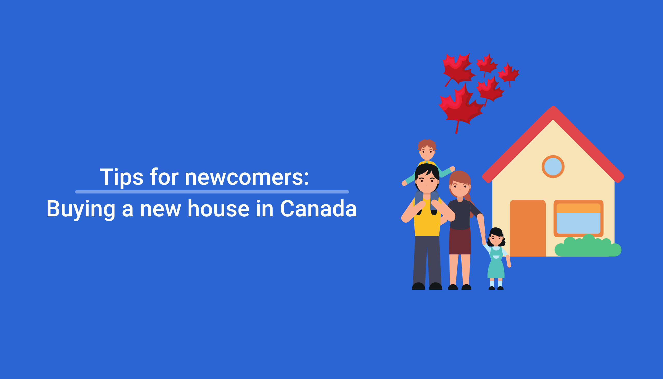Buying a new house in canada