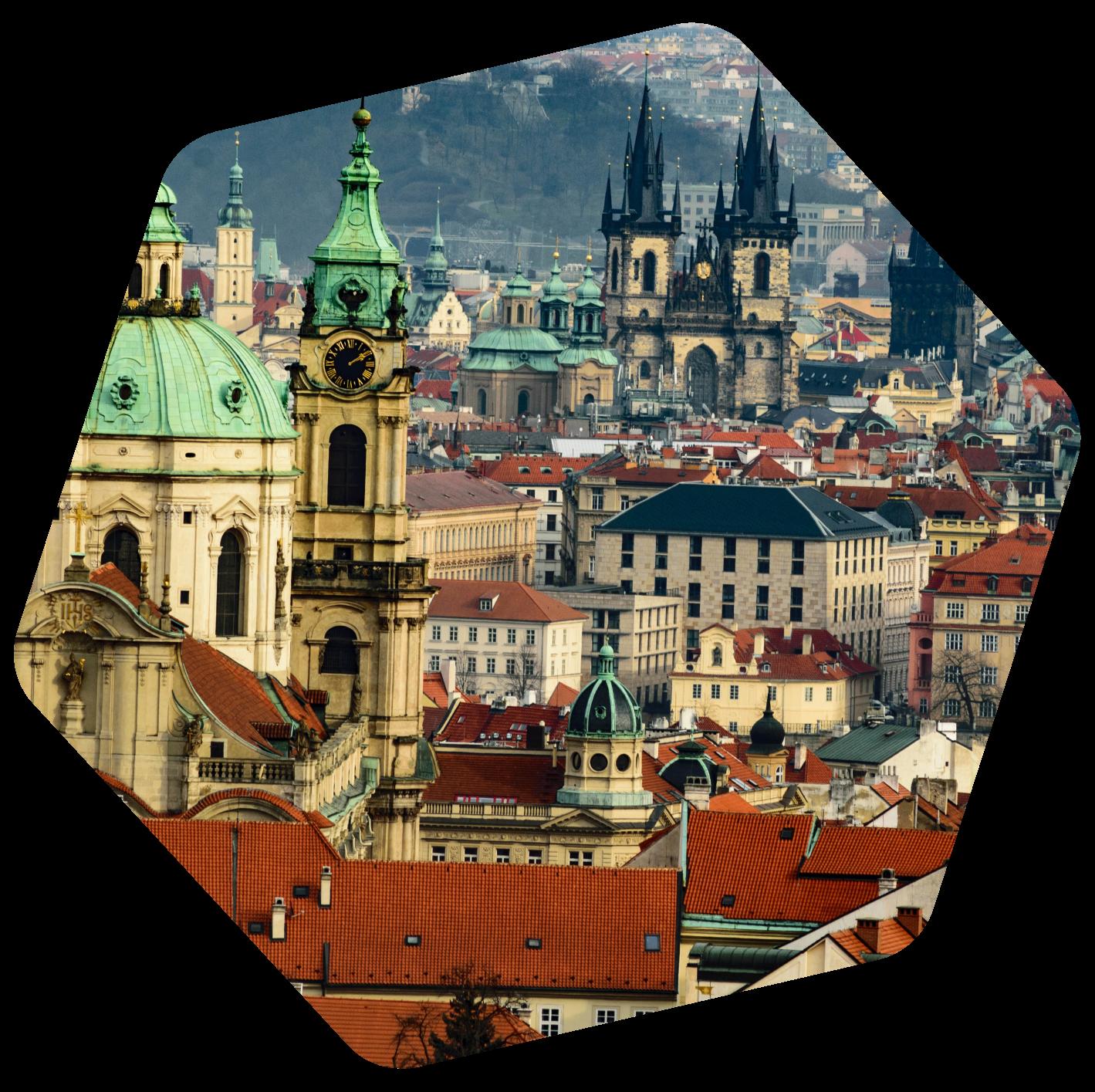 Czech old city