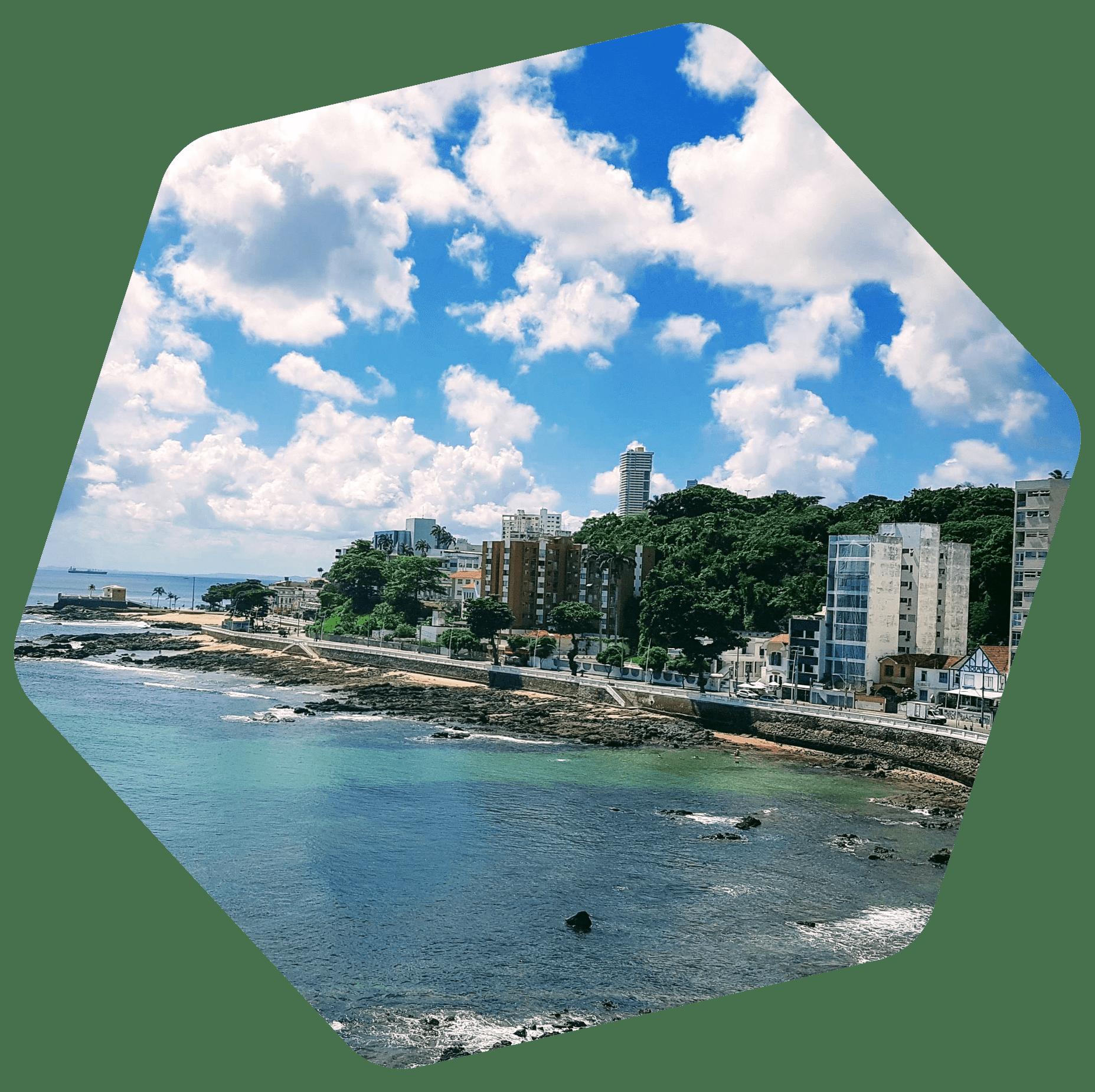 El Salvador costal city