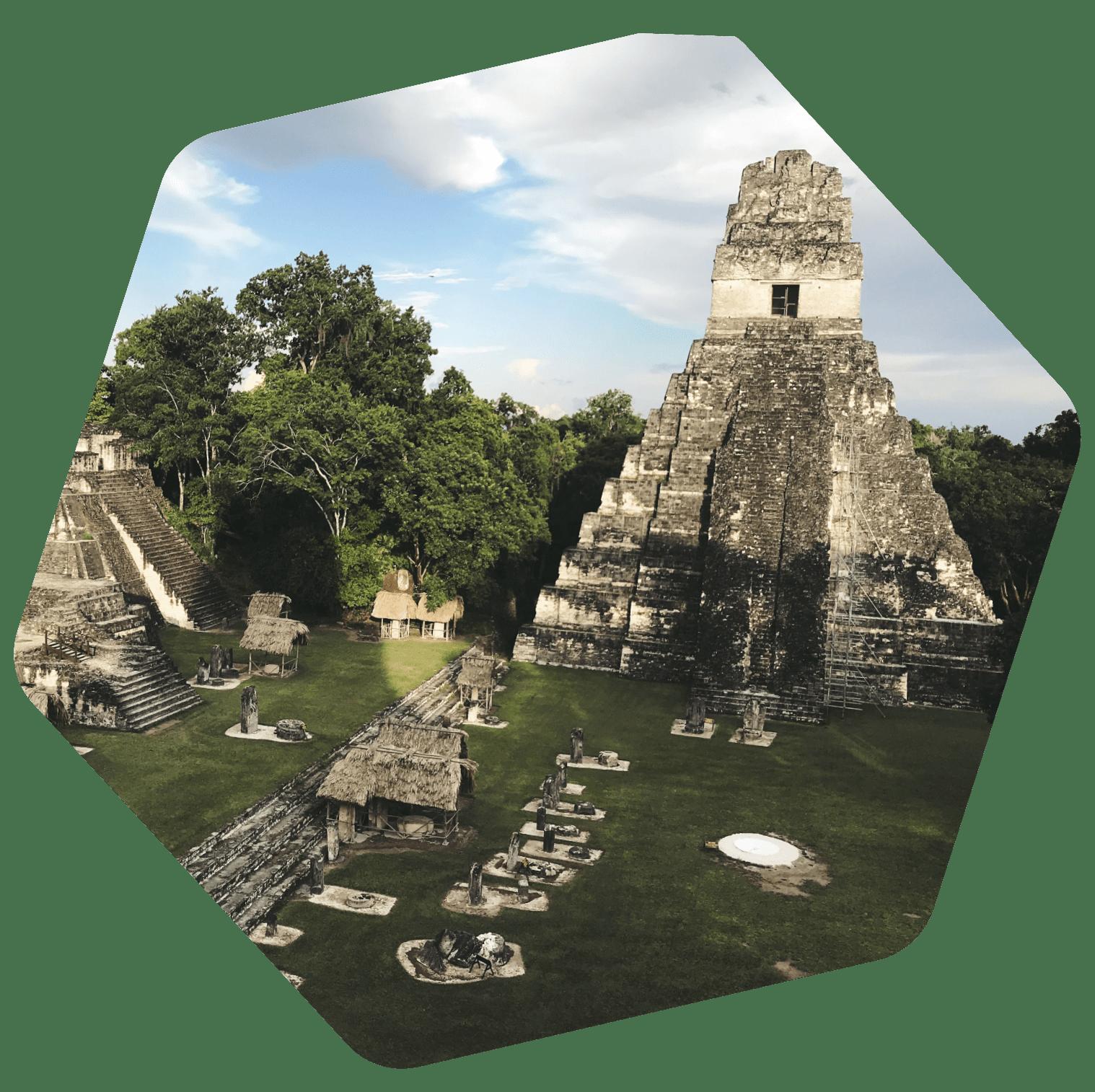 Guatemala Old temple