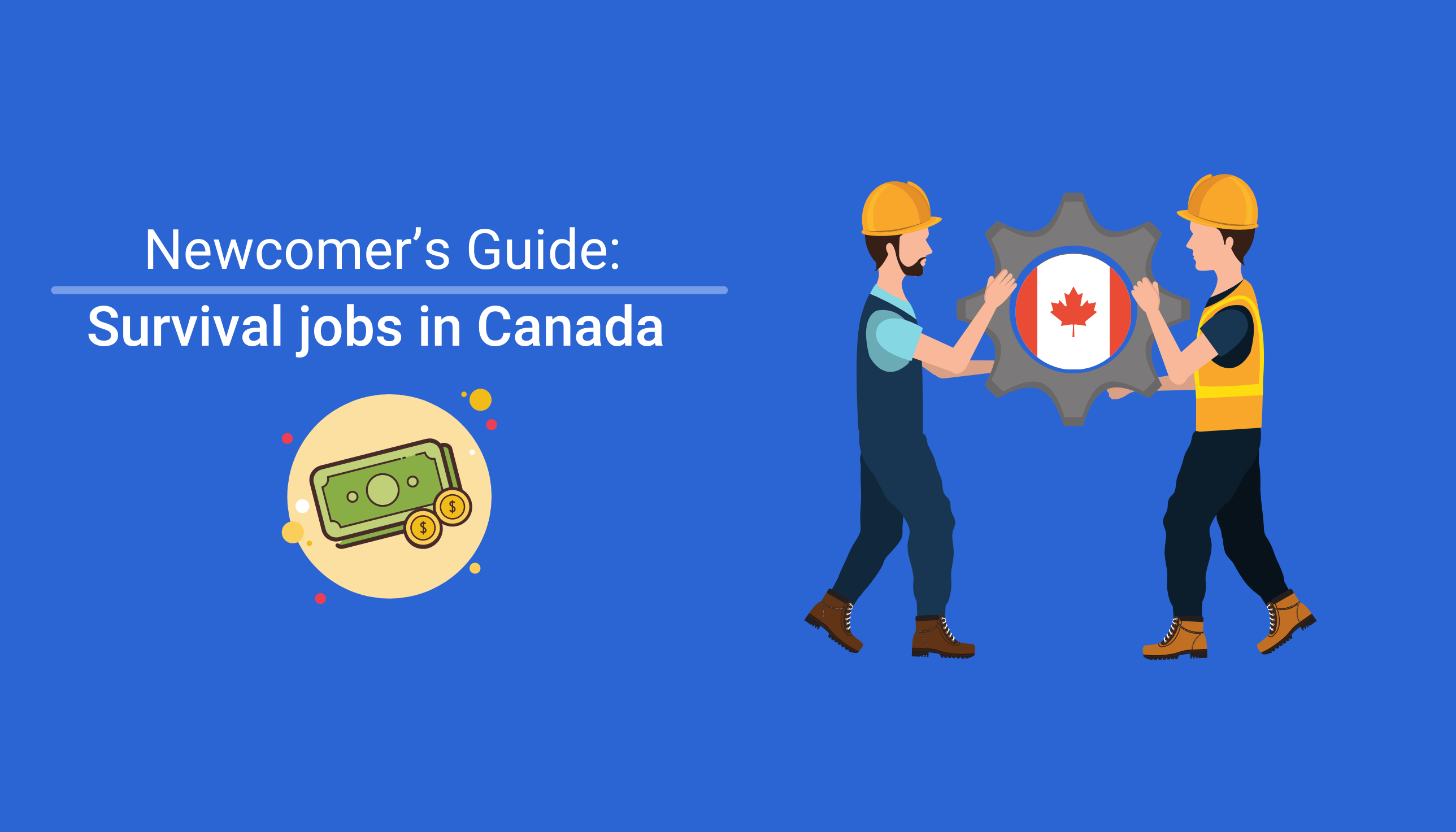 How to get survival jobs in canada